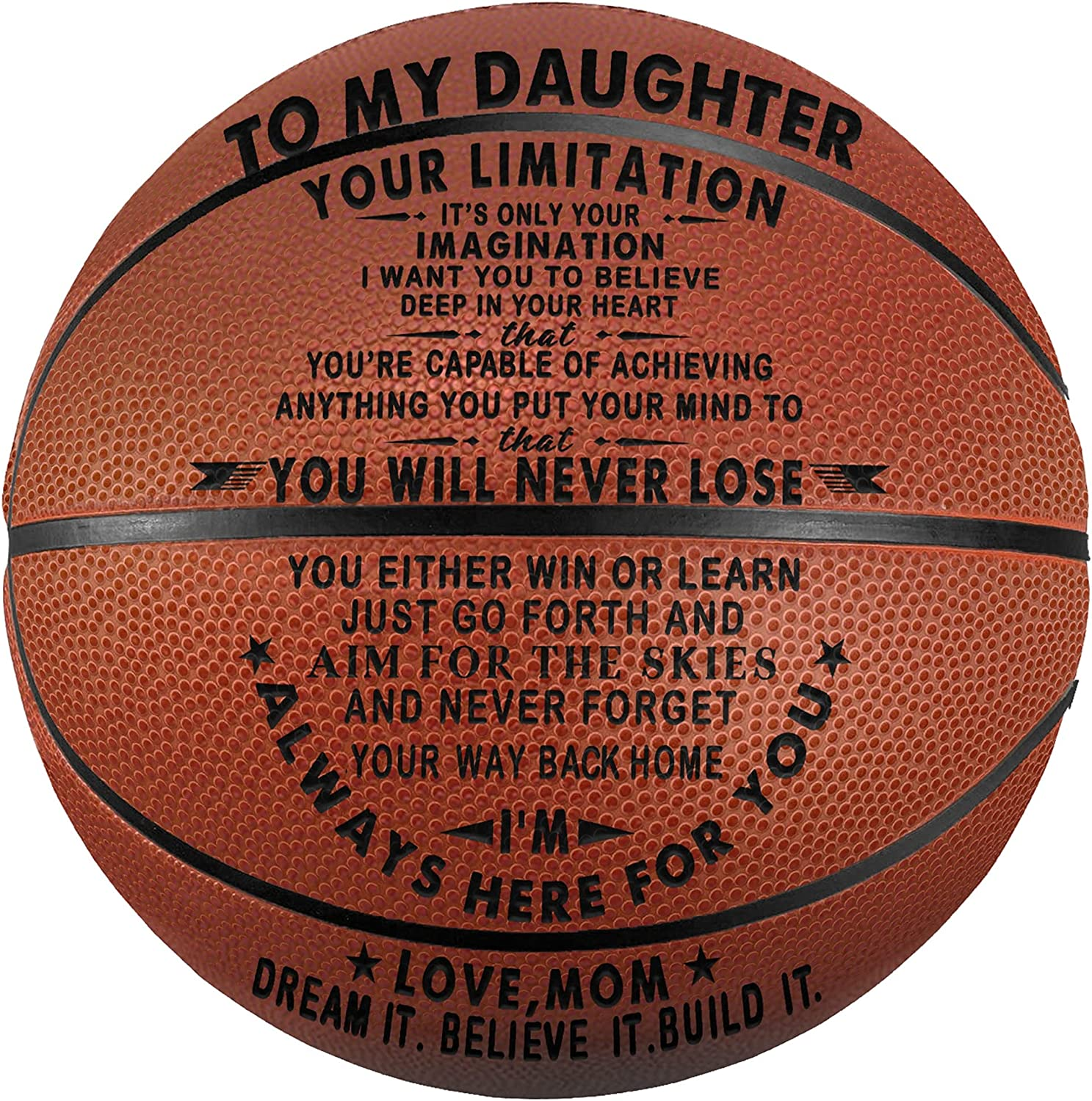 Tree New product!! Life Seasonal Wrap Introduction Engraved Basketball Gifts for - It Limitation Son Your