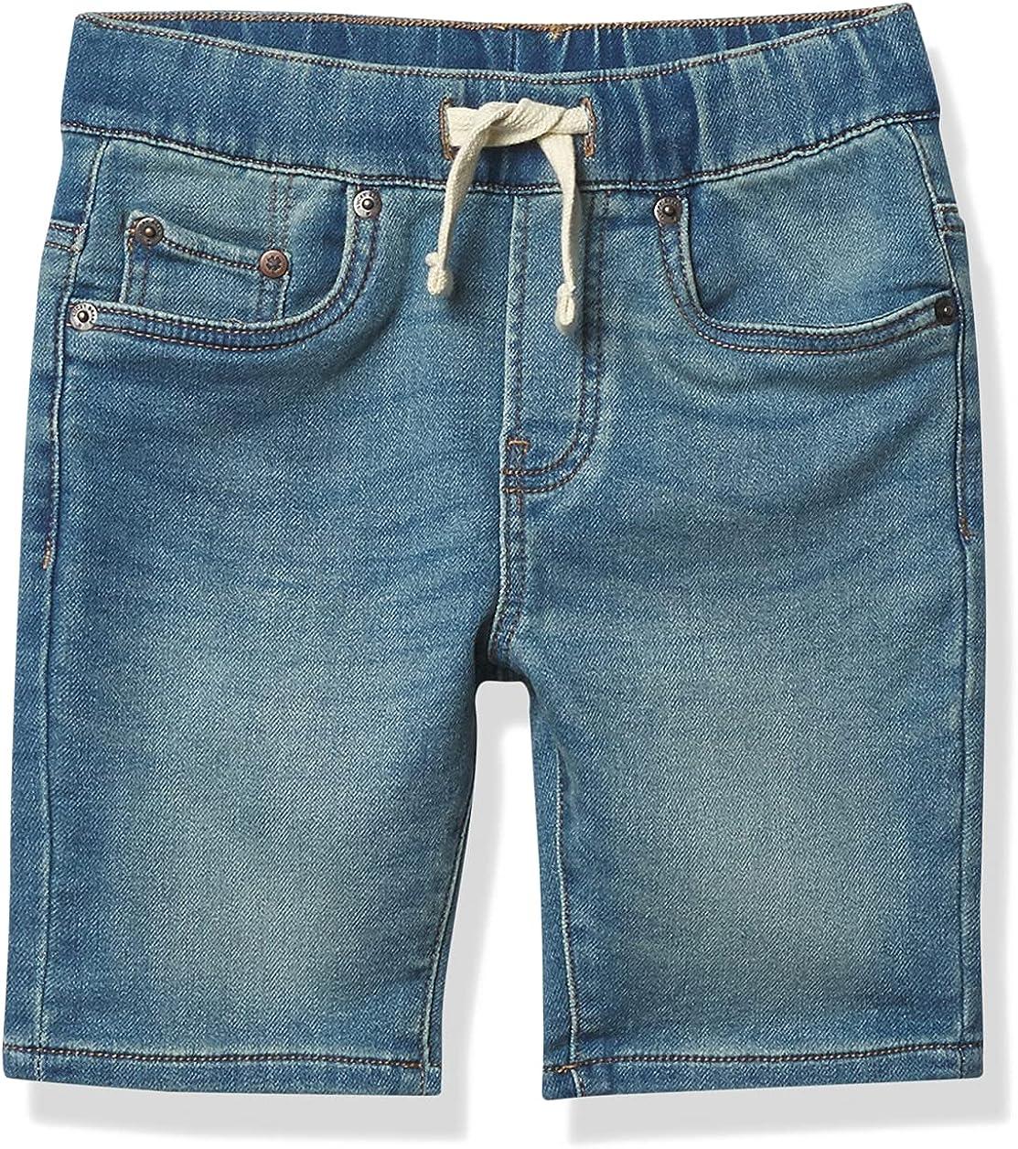 Lucky Brand Boys' 5 Pocket Knit Denim Short