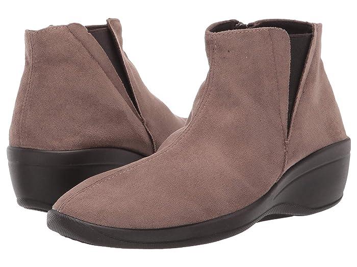 Arcopedico  Luana (Olive Faux Suede) Womens  Shoes