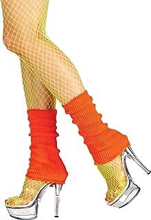 adam & eesa Boland 01756 - Beinwärmer für Erwachsene, neon orange, Einheitsgröße