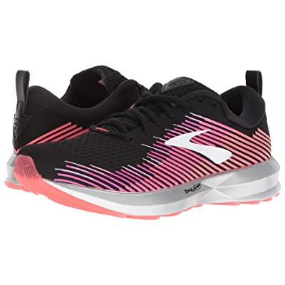 Brooks Levitate (Black/Pink/Almond) Women