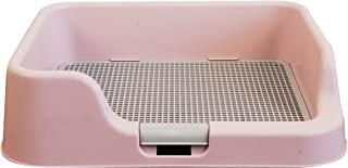 [DogCharge] Indoor Dog Potty Tray – with Protection Wall Every Side for No Leak, Spill, Accident - Keep Paws Dry and Floors Clean