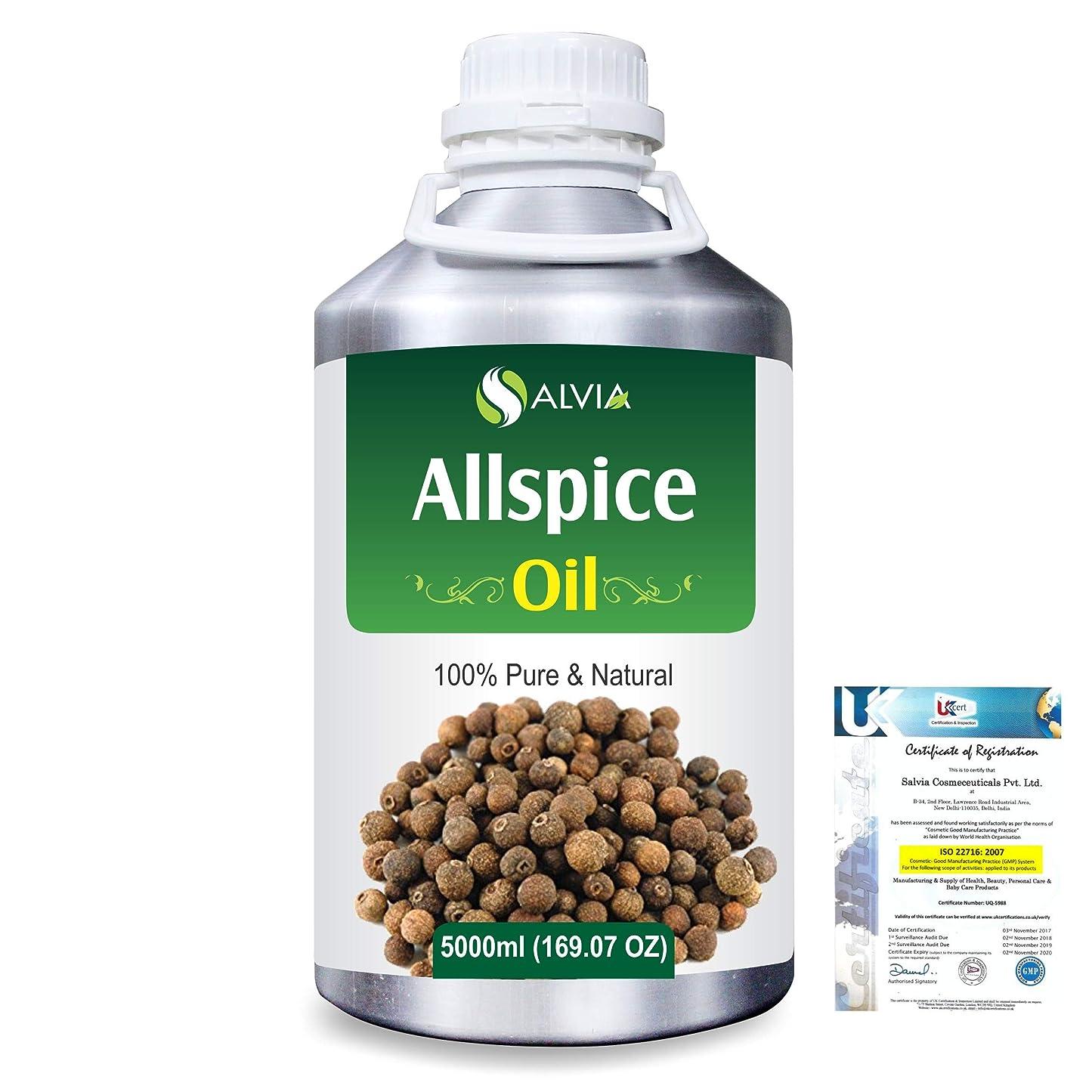 リボン隣人基礎理論Allspice (Pimenta officinalis) 100% Natural Pure Essential Oil 5000ml/169fl.oz.