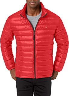 Calvin Klein Men's Packable Down Jacket Down Coat