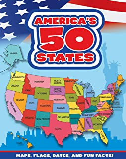 America's 50 States: Maps, Flags, Dates, and Fun Facts!