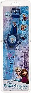 ساعة معصم لاطلاق اقراص الاتصال من ديزني بتصميم فروزن - للاناث