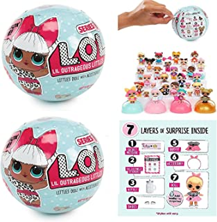 L.O.L. Surprise! Doll Series 1 - 2 Pack