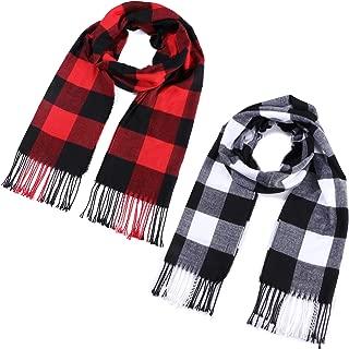 Soft Fleece Check Tartan Vintage Mens Boys Ladies Warm Winter School Scarf Gift