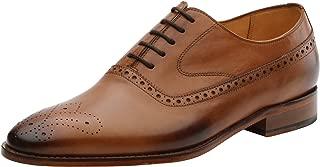 Men's Brogue Leather Oxfords Shoes