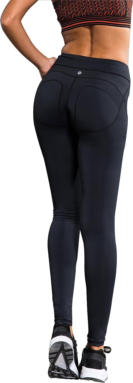 Laisa Sports Andils SelectionWomen's Snug Stretch Slimming Non SeeThrough Power Flex Yoga Leggings Workout Running Pants