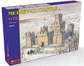 MiniArt 72005 Medieval Castle, 1/72 Scale Historical Miniatures Series Plastic Building Model Kit