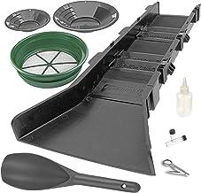 Sluice Fox Gold Panning Supplies Kit with Sluice Box