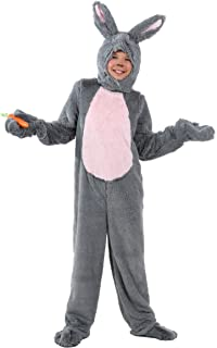 Kid's Grey Bunny Costume Child Bunny Rabbit Costume