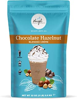 Chocolate Hazelnut by Angel Specialty Products Instant Frappe, Smoothie, Hot Chocolate Drink Mix [2 LB] [22 Servings]