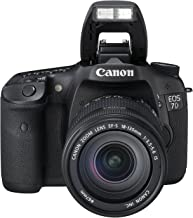 Canon EOS 7D + EF-S 18-135mm f/3.5-5.6 IS - Cámara digital (18 MP, SLR Camera Kit, CMOS, 0x, 0x, 18 - 135 mm) Negro (Reacondicionado)