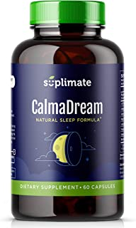 Sleep Aid, Premium Herbal Sleep Supplement with Valerian Root, Ashwagandha, Melatonin, Passion Flower, Magnesium and 5HTP,...