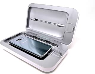 PhoneSoap 3.0 UV sanitizer, desinfectante, esterilizador UV-C y cargador, para teléfono celular. Incluye puerto de carga U...