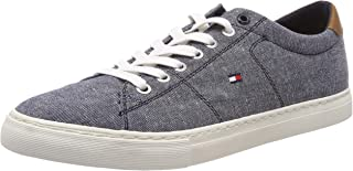 TOMMY HILFIGER Contrast Stitch Textile Shoes