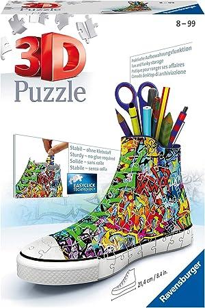 Ravensburger Sneaker Graffiti Style Jigsaw Puzzle (108 Piece), Multicolor