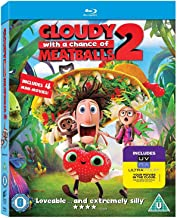 Cloudy with a Chance of Meatballs 2 Revenge of the Leftovers - 3D Blu-Ray