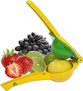Mobi Lock Premium Quality Metal Lemon, Orange and Lime Squeezer | Ideal for Manually Pressing