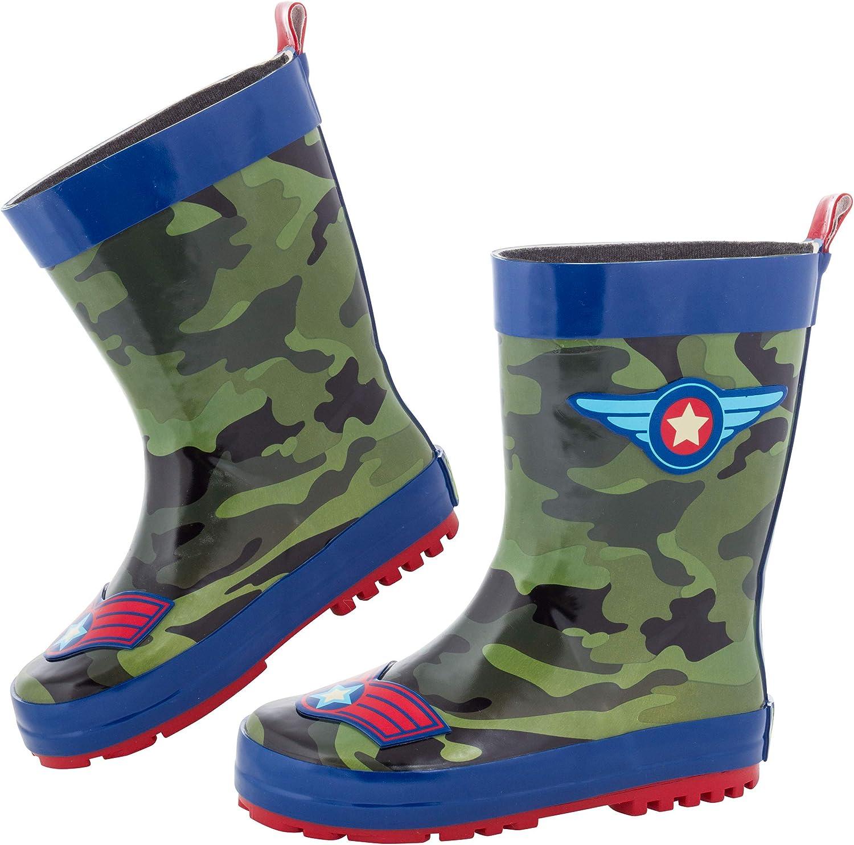 Stephen Josheph Baby-Girl's 1 year San Jose Mall warranty Joseph Rain Boots Raincoat