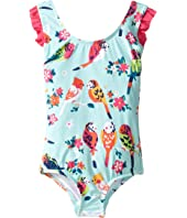 Hatley Kids - Tropical Birds Swimsuit (Toddler/Little Kids/Big Kids)
