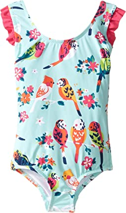 Tropical Birds Swimsuit (Toddler/Little Kids/Big Kids)