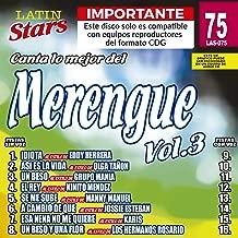 Karaoke Music CDG: Latin Stars Vol. 75 - Merengue Vol.3 Karaoke CDG (Sale!)