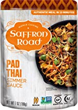 product image for Saffron Road Pad Thai Simmer Sauce, 7oz (Pack of 8) - Gluten Free, Halal, Non-GMO, Kosher, Vegan