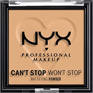 NYX PROFESSIONAL MAKEUP Can't Stop Won't Stop Mattifying Pressed Powder - Golden