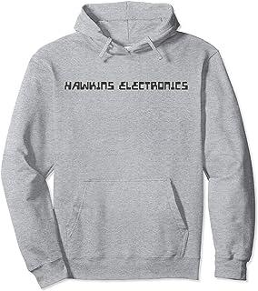 Netflix Stranger Things Hawkins Electronics Logo Sweat à Capuche