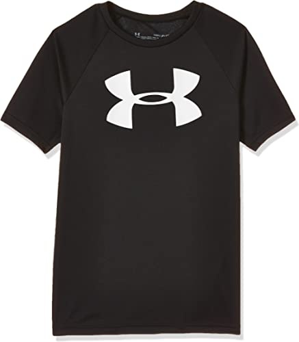 Under Armour Boys' Tech Big Logo Short Sleeve Gym T-Shirt