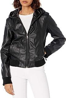 Skinnygirl womens The Hooded Bomber Jacket