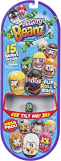 Moose Toys Mighty Beanz Mega Pack - 15 Beanz Inside - Flip, Roll n Race