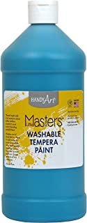 Handy Art Little Masters Washable Paint 32 ounce, Turquoise