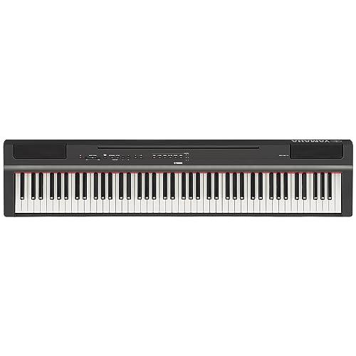Yamaha P-125B - Piano digital, color negro