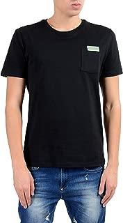 Collection Men's Black Crewneck T-Shirt Size US XL IT 54