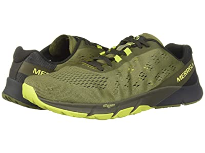 Merrell Bare Access Flex 2 E-Mesh (Olive) Men