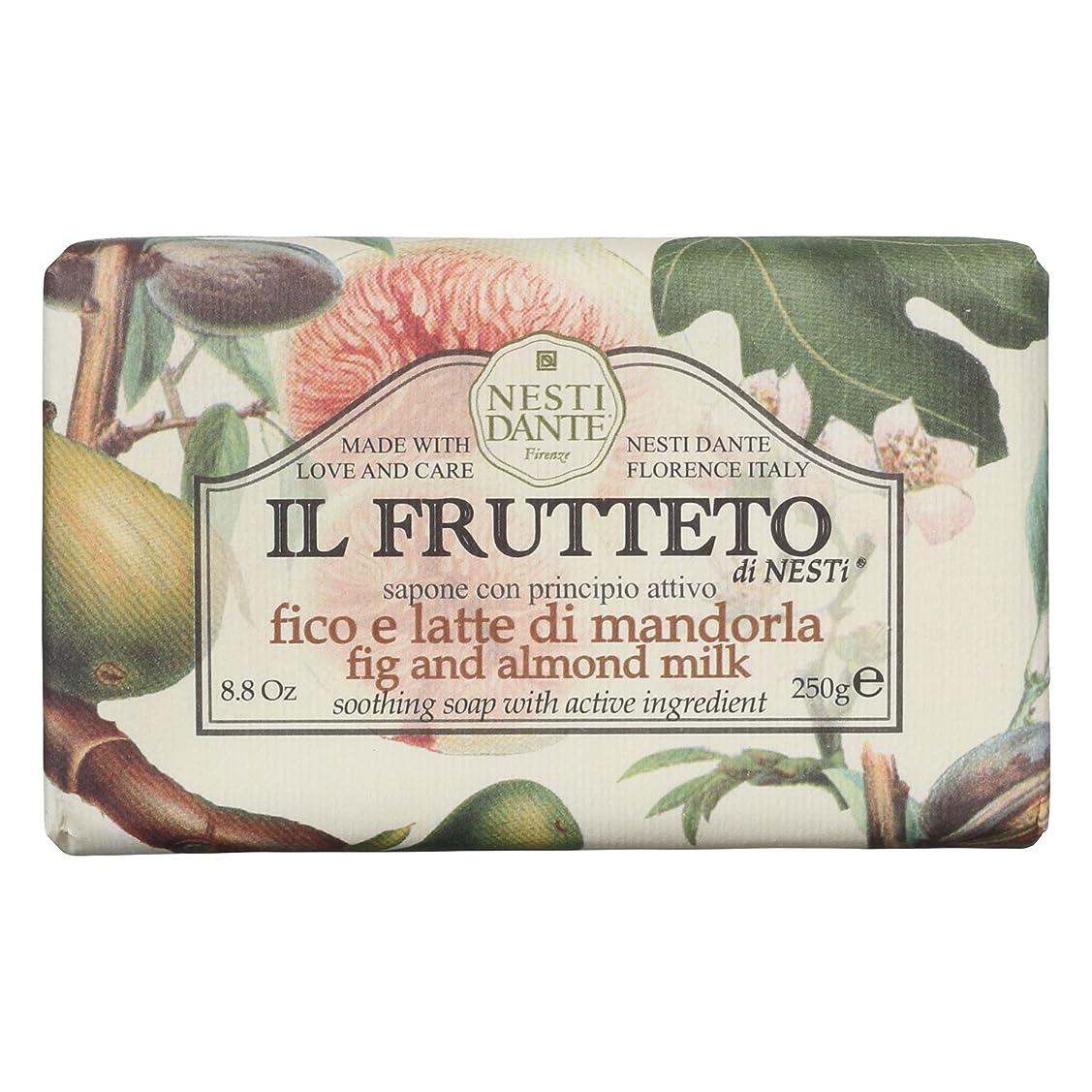 関連付けるベンチにはまってネスティダンテ (Nesti Dante) フルッテートソープ フィグ&アーモンドミルク 250g