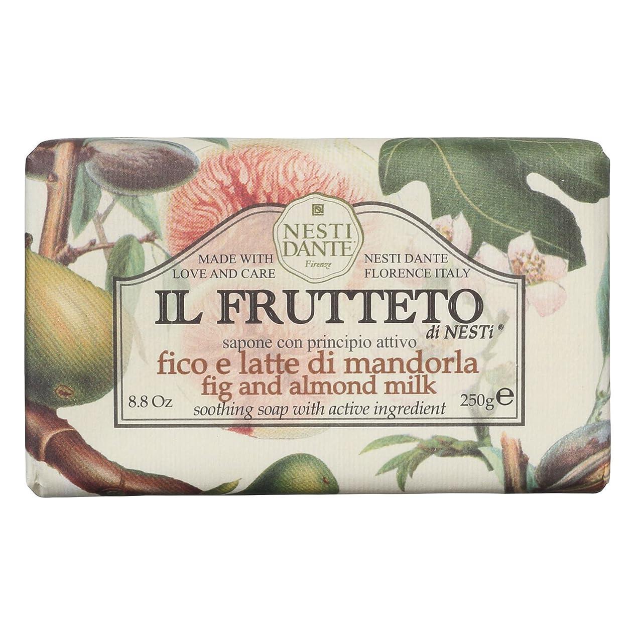 エリート不公平組立ネスティダンテ (Nesti Dante) フルッテートソープ フィグ&アーモンドミルク 250g