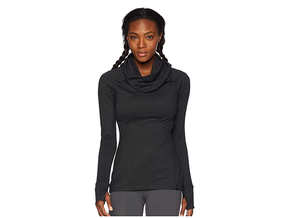 Spyder Solitude Funnel Neck Top (Black/Black) Women