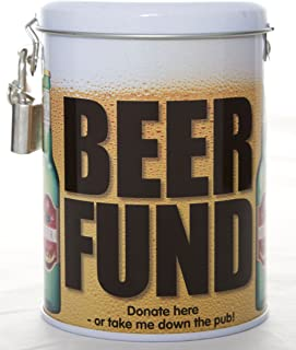 Boxer Gifts TIN-Beer Fund, One, Green