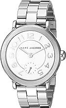 Marc Jacobs Women's MJ3469 Riley Analog Quartz Silver Watch