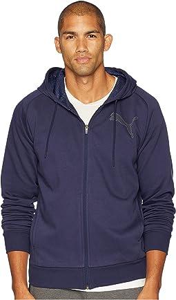 P48 Modern Sport Full Zip Fleece Hoodie