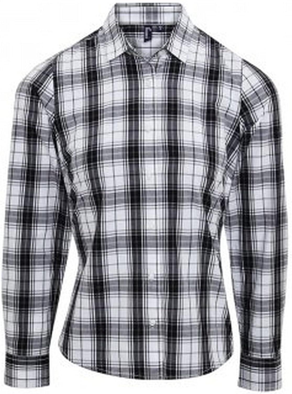 Premier - Camisa a Cuadros de Manga Larga Modelo Ginmill ...