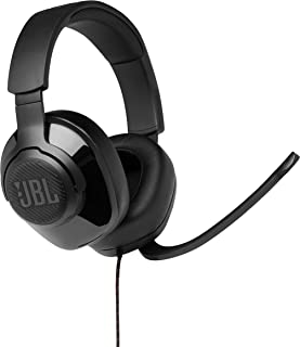 JBL Quantum 300 Wired Over-Ear Gaming Headphone, Black