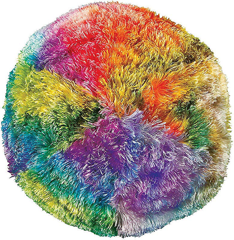 Fun Express Plush Tye Dye Gumball Pillow Toys Plush Misc Plush 1 Piece