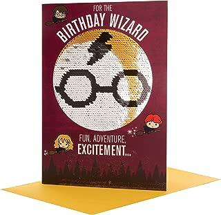 Harry Potter Birthday Wizard Birthday Card