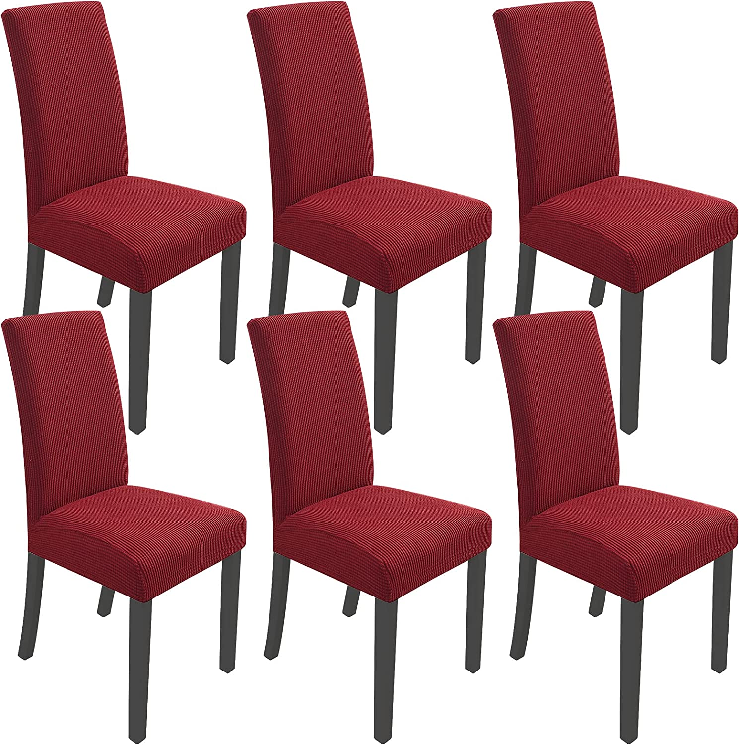 AQIQI Dining Chair Covers Stretch Cov Back Ranking TOP20 High Protective Tulsa Mall